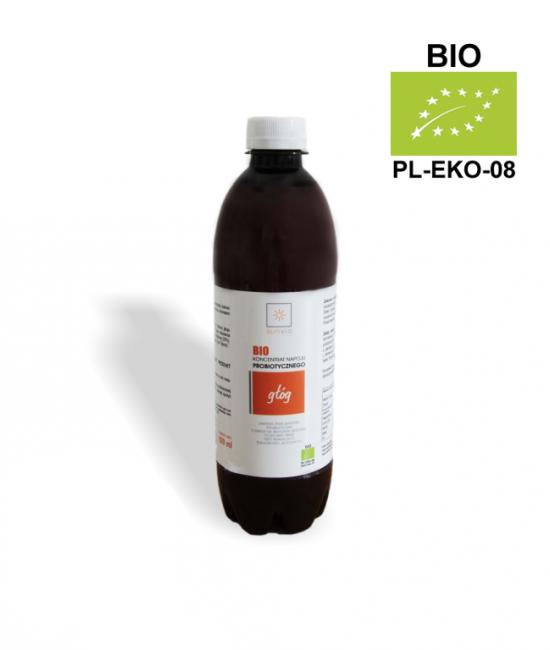 EKO Probiotyk z głogu 500 ml - SUNVIO PROBIOTYKI